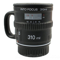INTO FOCUS COFFEE MUG