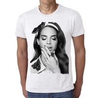 Lana Del Rey H: men t-shirt, celebrity t-shirt  7015063