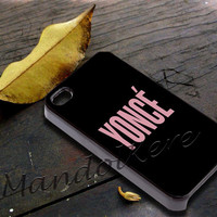 Yoncé Cover - iPhone 4 4S iPhone 5 5S 5C and Samsung Galaxy S3 S4 Case