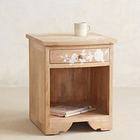 Pearl Inlay Nightstand