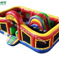 Source Hot selling commercial inflatable obstacle course on m.alibaba.com