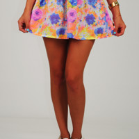 Under The Flowers Skirt: Multi