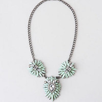 AVENTURA JEWELED MEDALLION NECKLACE