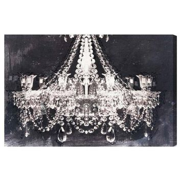 I liked this design on #Fab. Dramatic Entrance Night Canvas