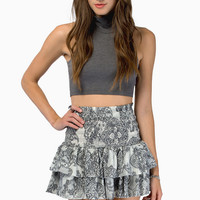 Like It Ruffled Skirt $28
