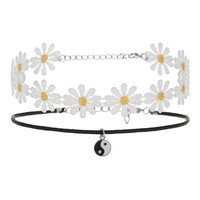 DAISY AND YIN YANG CHOKER PACK