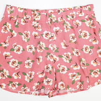 Hawaiian Pocket Shorts - Peach