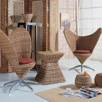 Unique Rattan Chairs - Opulentitems.com