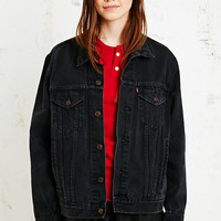 Vintage Renewal Levi's Denim Jacket in Black - Urban Outfitters