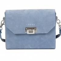 Sini Bag - Blue Nubuck | NOT JUST A LABEL