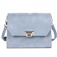 Ada Bag - Blue Nubuck | NOT JUST A LABEL