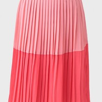 Pretty Pleat Midi Skirt By Sugarhill