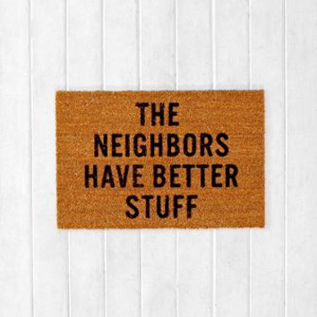 Reed Wilson Design My Neighbors Mat - Urban Outfitters