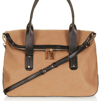 Flap Over Slouchy Holdall Bag