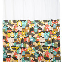 Paint the Town Charming Shower Curtain | Mod Retro Vintage Bath | ModCloth.com