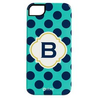 Printed iPhone 5 Case, Pool Dottie