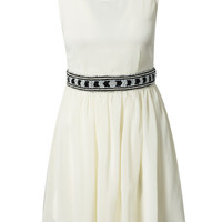 CHIFFON EMBELLISHED DRESS