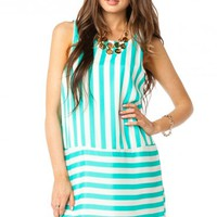 GALLIO DRESS IN MINT