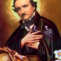 Saint Edgar Allan Poe Prayer Candle