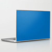 Dazzling Blue Laptop & iPad Skin by BeautifulHomes | Society6