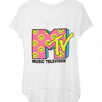 MTV Smiley Faces Tee
