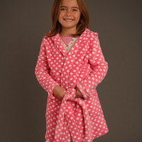 Pink & White Polka Dot Robe - Toddler & Girls | something special every day