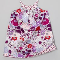 Purple Vineyard Reversible Yoke Dress - Infant, Toddler & Girls | something special every day