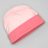 Pink & Fuchsia Organic Beanie | something special every day