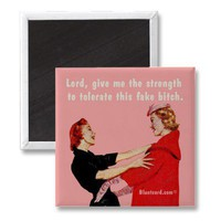 Give me the strength fridge magnet from Zazzle.com