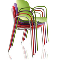 troy stacking armchair 2-pack