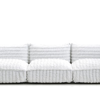 paper cloud 3-seat sofa
