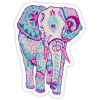 Colorful Elephant T-Shirts & Hoodies