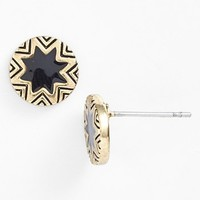 House of Harlow 1960 Sunburst Engraved Stud Earrings