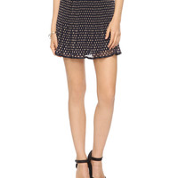 Pleated Polka Dot Skirt | FOREVER21 - 2000038590
