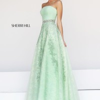 2014 Sherri Hill Empire Wait Prom Dresses 11123