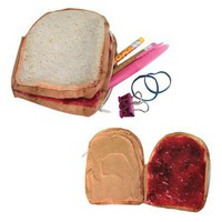 Peanut Butter & Jelly Wallet and Storage Pocket