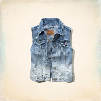 Beacon's Beach Denim Vest