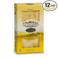 La Panzanella Black Pepper Croccantini Box, 5.5-Ounce Boxes (Pack of 12)
