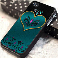 Coronation Elsa customized for iphone 4/4s/5/5s/5c, samsung galaxy s3/s4, and ipod touch 4/5