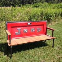 THE ORIGINAL - Jeep Blue Collar Tailgate Bench
