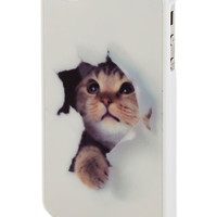 Peek-a-Mew iPhone 4/4S Case | Mod Retro Vintage Wallets | ModCloth.com
