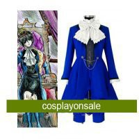 Kuroshitsuji Ciel Phantomhive Blue Cosplay Costume [TSY1111171013] - $129.44 : Cosplay, Cosplay Costumes, Lolita Dress, Sweet Lolita