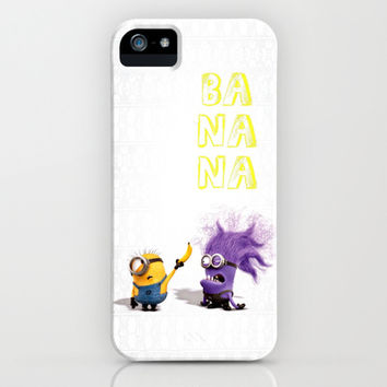 Banana iPhone & iPod Case by Ylenia Pizzetti