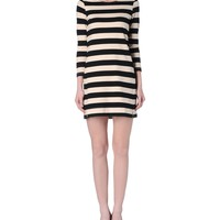 Theory Zamora Onitia Dress - Striped Dress - ShopBAZAAR