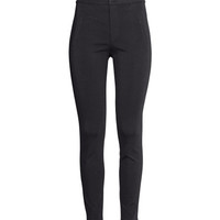 H&M - Treggings - Black - Ladies