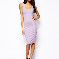 ASOS Midi Body-Conscious Tank Dress