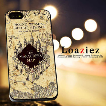 Marauders Map/iPhone 4/4s Case,iPhone 5 Case,iPhone 5S Case,iPhone 5C Case,Samsung Galaxy Case,Samsung Galaxy S2/S3/S4-15/7/15