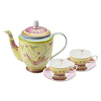 Cashmere Enchante 5-Piece Tea Set by Maxwell & Williams