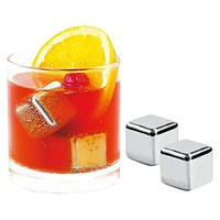 Stainless Steel Ice Cube (Set of 4) by Avanti