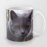 A NEW FRIEND 2 Mug by Melania Emma